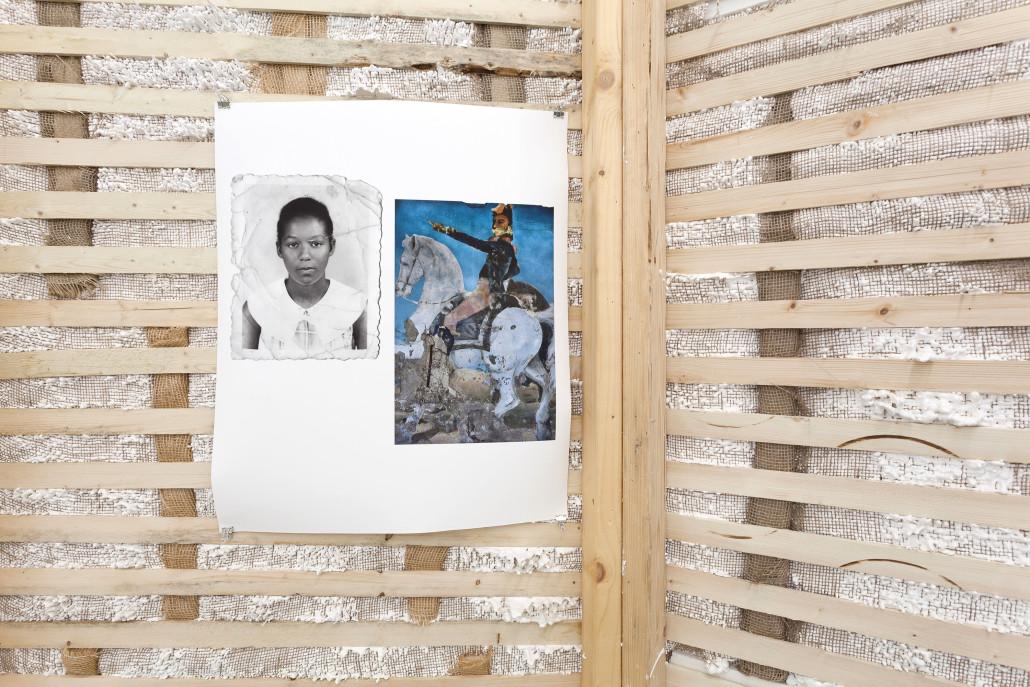 Jamilah Sabur. Untitled (Cheryl Annmarie and Simón José Antonio in Kingston), 2017 (detail).