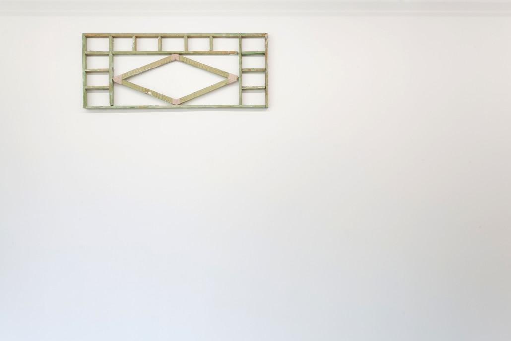 Jamilah Sabur. Untitled (diamond-latticework: 11 Mckay Terrace, Kingston 11), 2017.