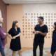 Juan Pablo Garza, Magnus Sigurdarson, Frances Trombly, Leyden Rodriguez-CAsanova, Anita Sharma, and Laura Marsh talk at Dimensions Variable in Miami