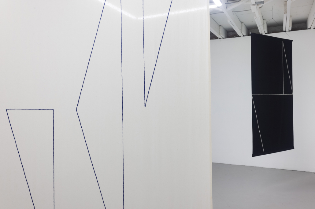 Cortinas—Felipe Mujica installation view